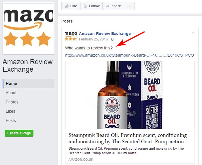Amazon Review Exchange Facebook Group